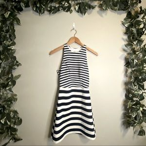 🆕Abercrombie and Fitch Striped Tank Midi Dress